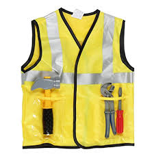Construction Worker Costume Construction Worker Or Engineer Fancy Dress Premium Costume For