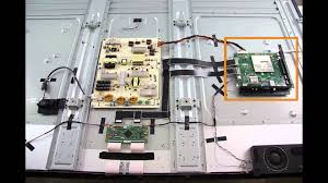vizio e701i a3 u0026 e701i a3e tv repair kit how to replace the t
