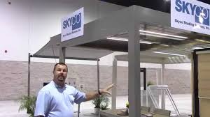 renson louvered outdoor living system youtube