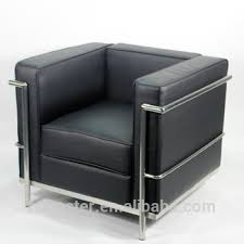 le corbusier canape blanc noir réplique français un siège canapé le corbusier lc2