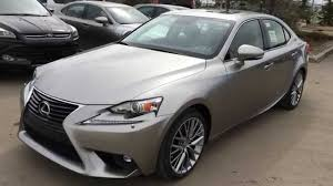 lexus is rwd new atomic silver 2015 lexus is 250 awd luxury package review