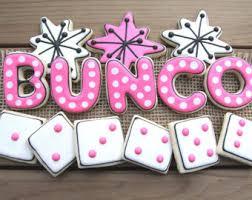 bunco party bunco decorations etsy
