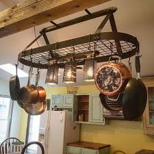 kitchen pan storage ideas rack inspiring pot and pan rack for kitchen wall mounted pot rack