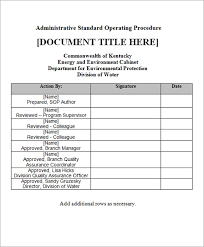 Quality Assurance Excel Template How To Prepare A Sop Format Sop Standard Operating Procedure