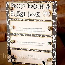 alternative guest book ideas alternative guest book ideas photo booth diy photobooth and wedding