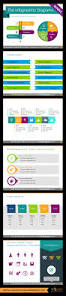infographics powerpoint templates with modern flat design editable