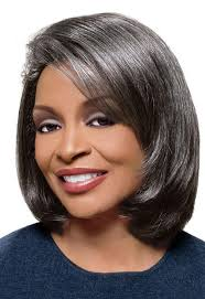 black women short grey hair medium straight grey hair wig for black women short grey wigs