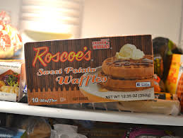 roscoe u0027s frozen sweet potato waffles are a surprisingly sound