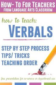 grammar lesson plans verbals grammar activities grammar