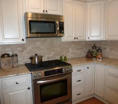 travertine kitchen backsplash colonial gold granite countertop with travertine backsplash