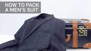 how to travel with a suit images How to easily pack a suit not wrinkle it travel leisure jpg