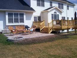 Patio Deck Ideas Backyard Shocking Patio Deck Ideas Backyard Landscaping Fence Of