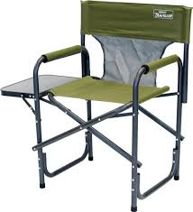 Folding Directors Chair With Side Table Quest Surrey Directors Chair Sage Green Amazon Co Uk Sports