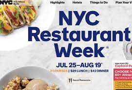 nyc restaurant week summer 2016 where to go and amex statement