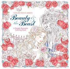 color the classics beauty and the beast a deeply romantic