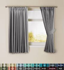 Standard Curtain Length South Africa by H Versailtex 85 Blackout Pair Light Reducing Pencil Pleat