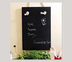 spray painting a kitchen chalkboard