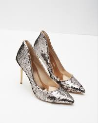 Wedding Shoes Ted Baker Ted Baker Pointed Leather Court Shoes In Pink Lyst