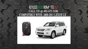 lexus lx 570 keys how to replace lexus lx key fob battery 2008 2009 2010 2011 youtube