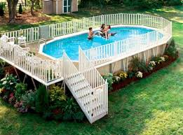 Decks And Patios Designs by 40 Uniquely Awesome Above Ground Pools With Decks