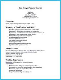 Business Analyst Job Resume by Data Analyst Resume Will Describe Your Professional Profile