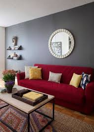 living room best paint colors for walls with red sofa color loversiq