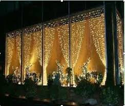 Led Light Curtain Outdoor Led Light Curtain Professional Grade 2m W 3m H Extendable