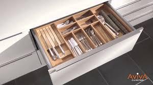 organiseur de tiroir cuisine cuisines aviva les organiseurs de tiroirs et de casseroliers