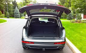 audi q7 cargo capacity audi q7 tdi loving the distance thing 10 12
