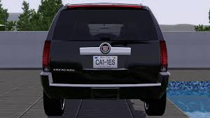 cadillac escalade tail lights fresh prince creations sims 3 2011 cadillac escalade