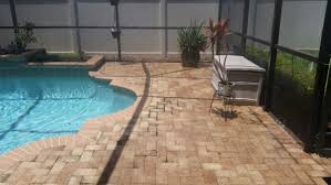 Cleaning Patio With Pressure Washer Pressure Washing Pools And Screens Pressurewashingclearwater Com