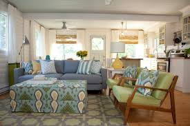 bright and fresh living dining kitchen summer home on hgtv