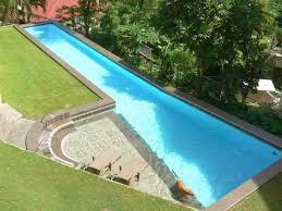 Backyard Swimming Pools by Best 25 Backyard Lap Pools Ideas On Pinterest Lap Pools