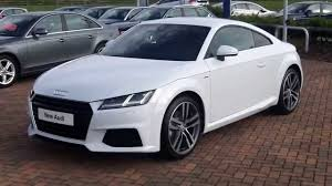 new audi tt coupe 2 0tdi 184ps ultra s line manual youtube