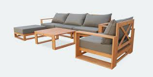 canapé d angle bois salon de jardin canapé d angle frais awesome salon de jardin bois