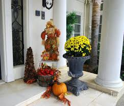 Halloween Decor Home Halloween Decor Front Door Home Catalog Diy Fall Driven By