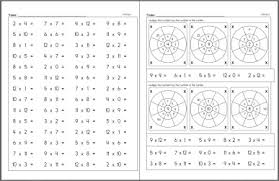 free multiplication worksheets edhelper com