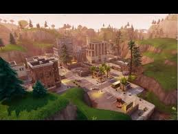 map of new city fortnite battle royale new city map update trailer 2018