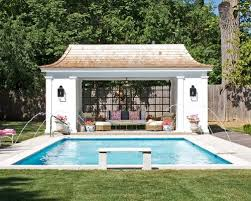 Pool House With Bathroom Cabana With Bathroom Houzz
