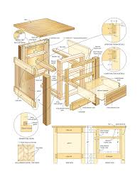 Woodworking Plans Bedside Table Free by Free Woodworking Plans End Table Woodworking Plans Woodworking