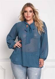 Plus Size Bodysuit Blouse Plus Size Tops Debshops Com