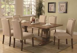 7 dining room sets coaster parkins 7 dining table and parson chair set