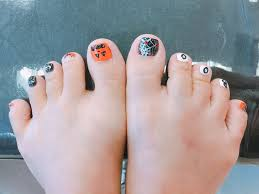 halloween toenails yelp