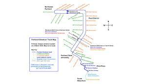 portland light rail map electric powered public transport in portland oregon toward