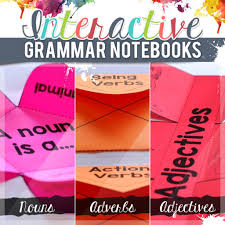 teaching grammar using interactive notebooks education to the core