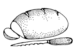 Coloring Page Bread Img 17333 Bread Coloring Page