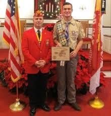 troop 422 eagle scout recognized joco report