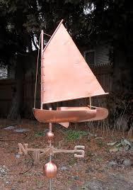Mermaid Weathervanes Catboat Sailboat Weathervane Cape Cod Cupola