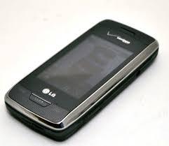 lg voyager vx10000s verizon cell phone titanium flip keyboard
