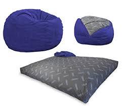 cordaroys king sofa sleeper amazon com cordaroy s navy blue corduroy convertible bean bag chair